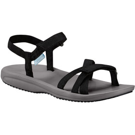 Columbia Wave Train Sandalen Dames, black/white